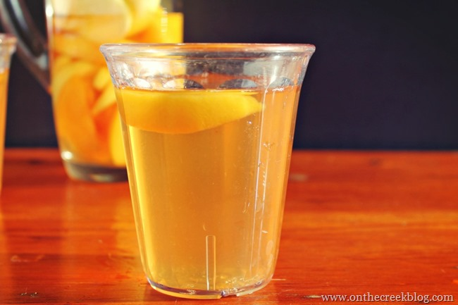 White Cranberry Peach Apple Cider