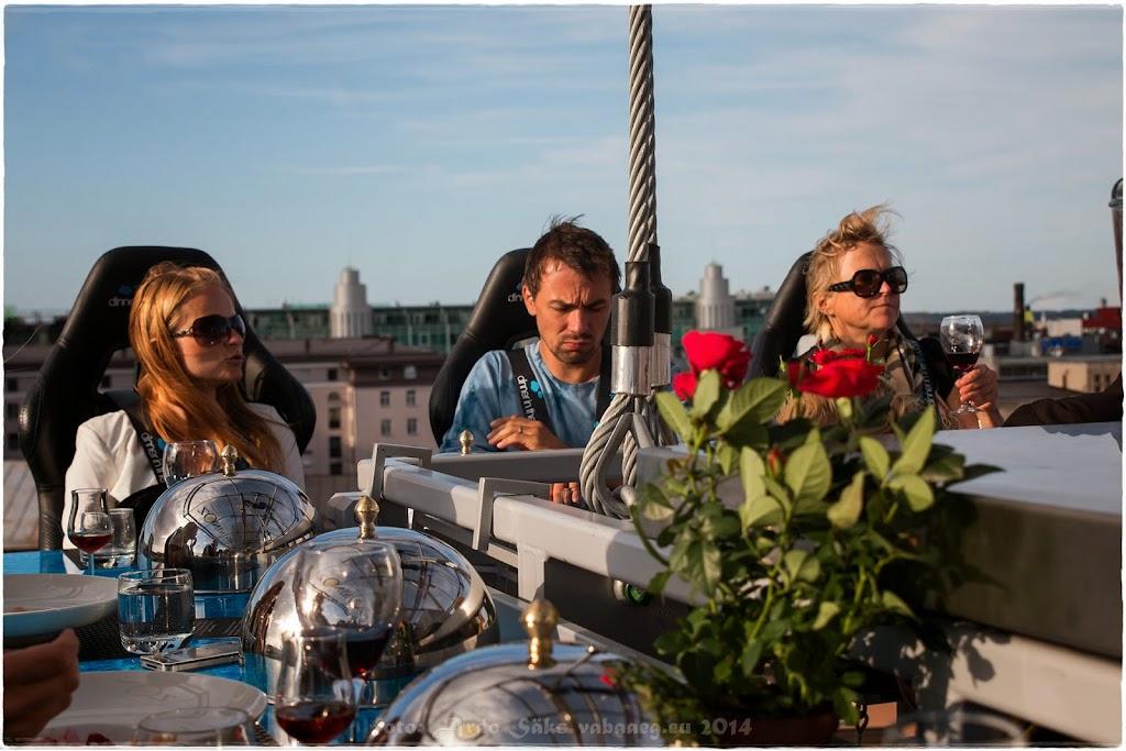 Dinner In The Sky, Tallinn 2014.08.12 / foto: Ardo Säks, www.vabaaeg.eu