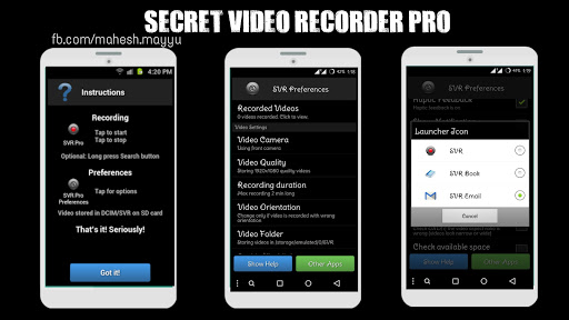 Download secret video recorder 1. 2. 2. 8 apk apk. Co.
