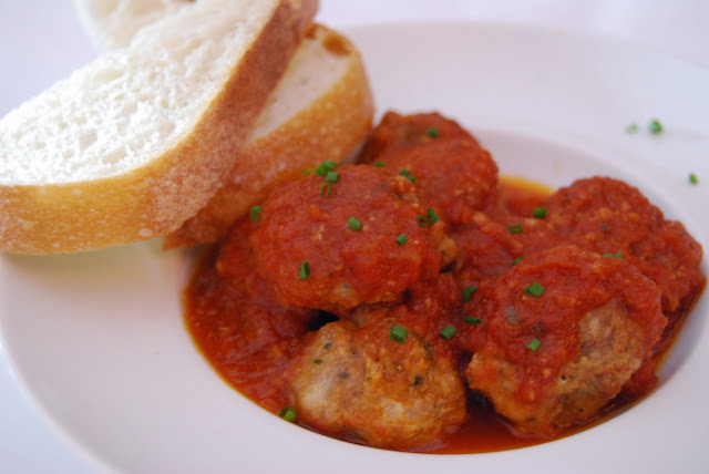 Meatballs served at Flats Tapas Bar in Fairhaven. Credit: Bellingham Whatcom County Tourism