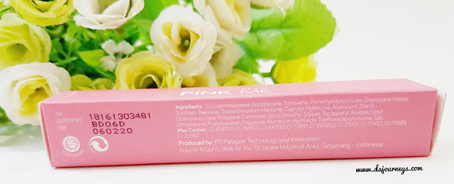 Review Wardah Exclusive Matte Lip Cream Pink Me