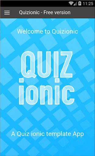 Quizionic 1.2 - Demo App