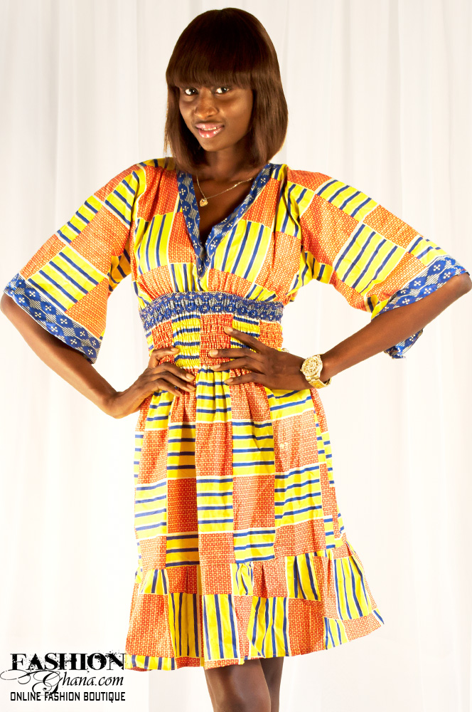African Dresses Styles To Have A Modern Pretty Look 9