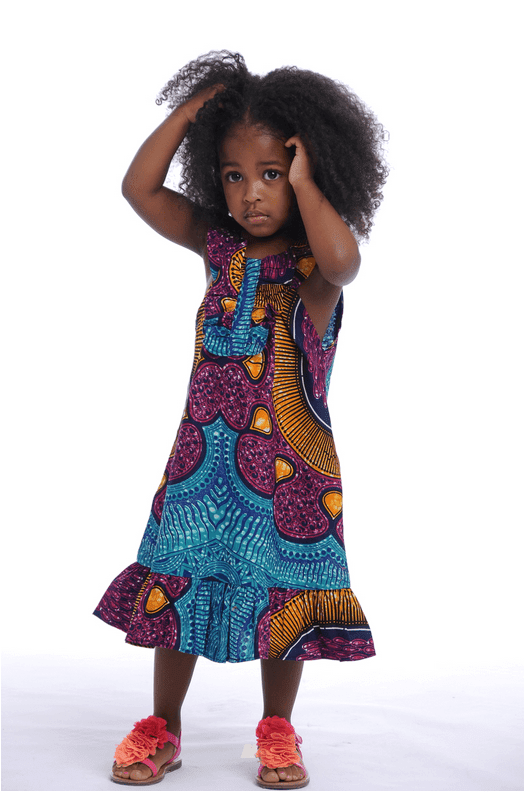 Cute African Babies Attire (African Kids Dresses Styles ) 2