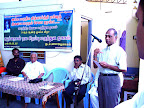 Dr.R.Mahalingam delivering the main speech :: Date: May 14, 2007, 11:10 AMNumber of Comments on Photo:0View Photo