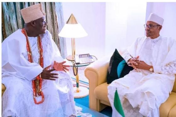 """Were not calling for war, Yorubas don't have power to fight"" - Ooni of Ife begs Buhari"