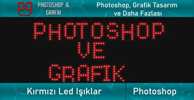 Kırmızı Işık Led Psd İndir | Red Light Led Psd Download