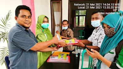 Pelatihan dan Pembekalan Kelompok Kerja Relawan Pendataan SDGs Desa Tahun 2021 di Kantor Desa Siabu