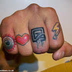 fingers - Finger Tattoos Designs