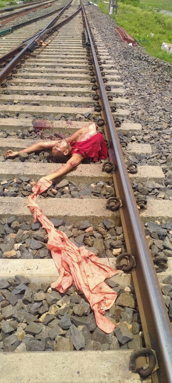 रेल पटरी से संदिग्ध अवस्था में शव हुआ बरामद , इलाके में सनसनी
