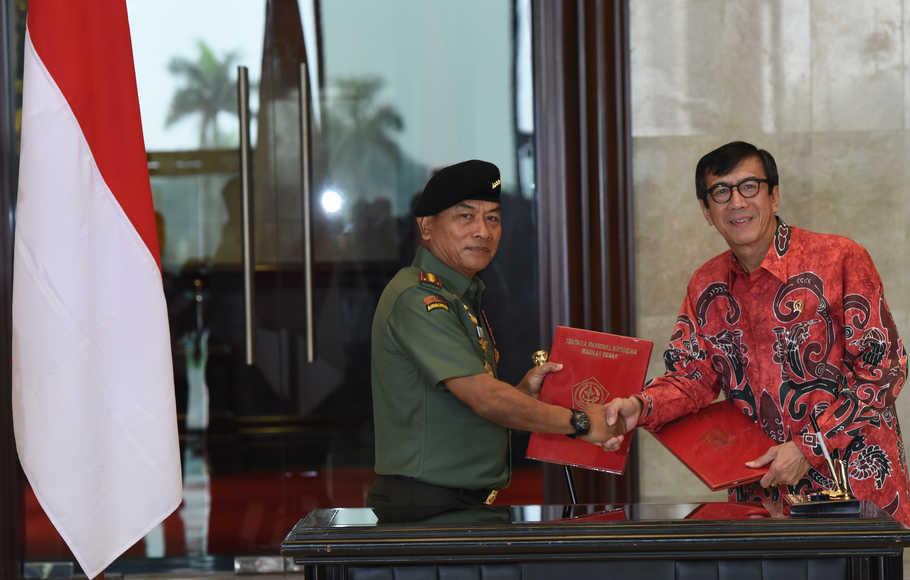 AHY Minta Jokowi Tindak Moeldoko dan Yasonna Tidak Sahkan KLB Deliserdang
