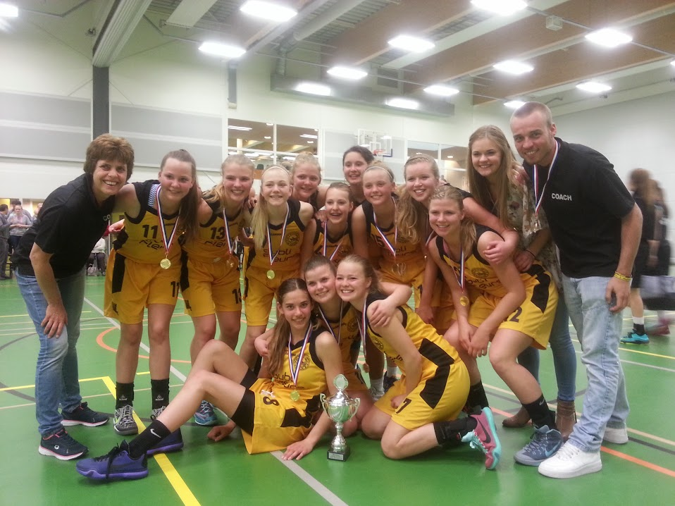 Meisjes onder 18 Nederlands Kampioen!