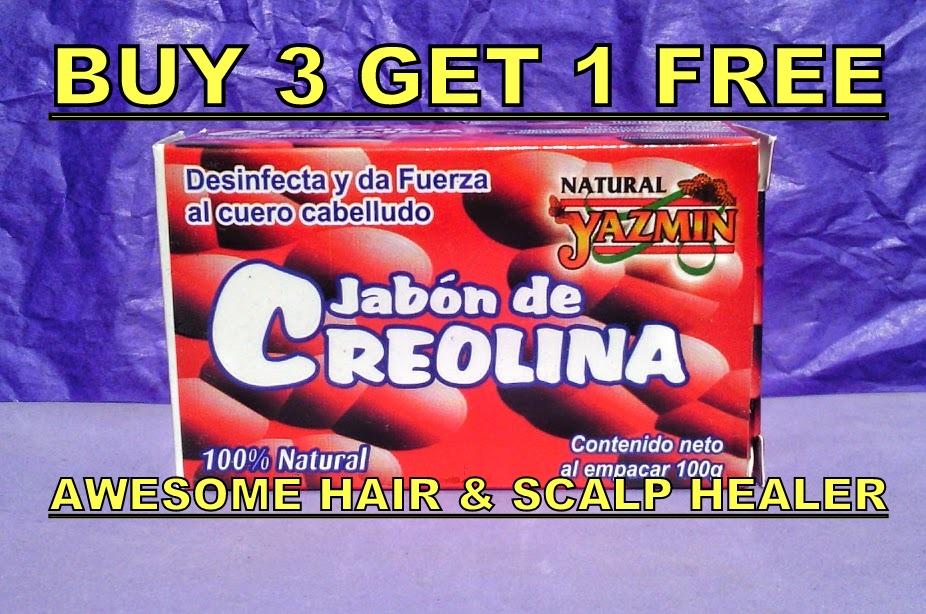 15 HAIR GROWTH CREOLIN SCALP HEALER SOAP ANTI LICE FAT DANDRUFF ...