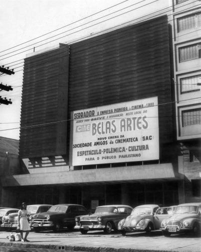 S11 ARQUIVO 15/05/1967 GUIA/DIVIRTA-SE - BELAS ARTES (CINEMA) - Cine Belas Artes - São Paulo. FOTO ARQUIVO/AE
