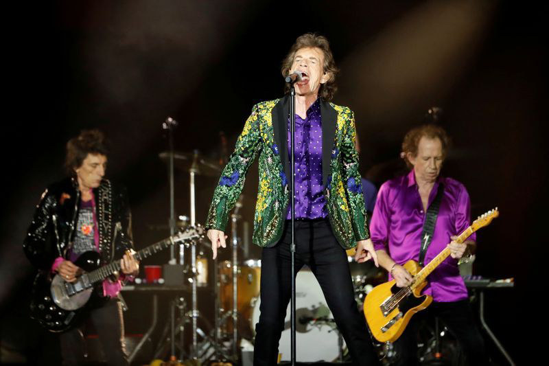 Locked-down Rolling Stones releases the new track 'Living in a Ghost Town'