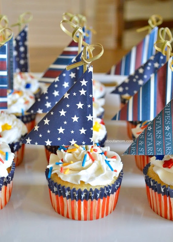 Sailboat-Cupcakes-Anchors-Aweigh-for-Memorial-Day