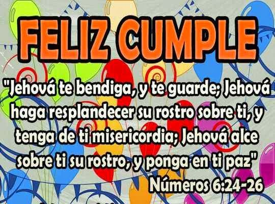 Bonitas palabras para un cristiano por su cumpleaños