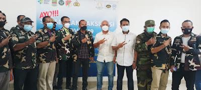 Ormas PDP WJI Kabupaten Bekasi Bersama Riverview Residence Gelar Vaksinasi Tahap 1 Untuk Masyarakat
