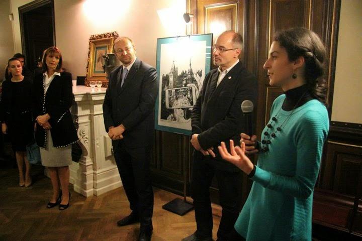 Principesa Maria, la evenimentul de lansare a volumului dedicat arhitectului ceh Karel Liman