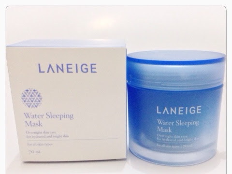 [Review] Laneige Water Sleeping Mask