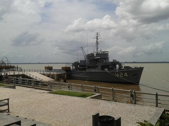 Navio Corveta, museo galleggiante - Belém do Parà