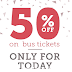 RedBus App - Get Flat 50% Off On Bus Ticket Bookings (All Users)