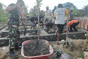 Wujud Kepedulian, Pangdam XIV/Hsn Kembali Bantu Warga Bangun Rumah Pasca Bencana Kebakaran