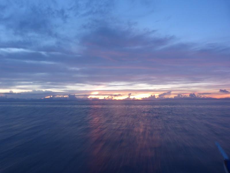 Lever de soleil, vers 05.30 am
