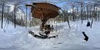 冬の森のくらしの郷