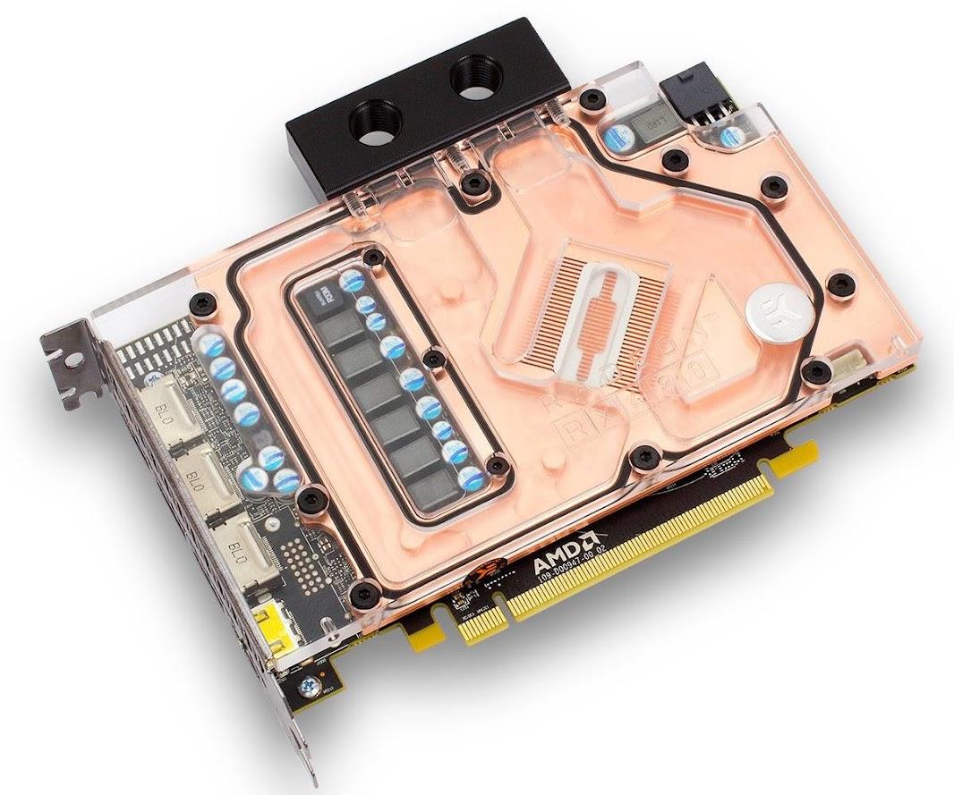 EK Water Block tung Block tản nhiệt nước cho AMD Radeon RX 480