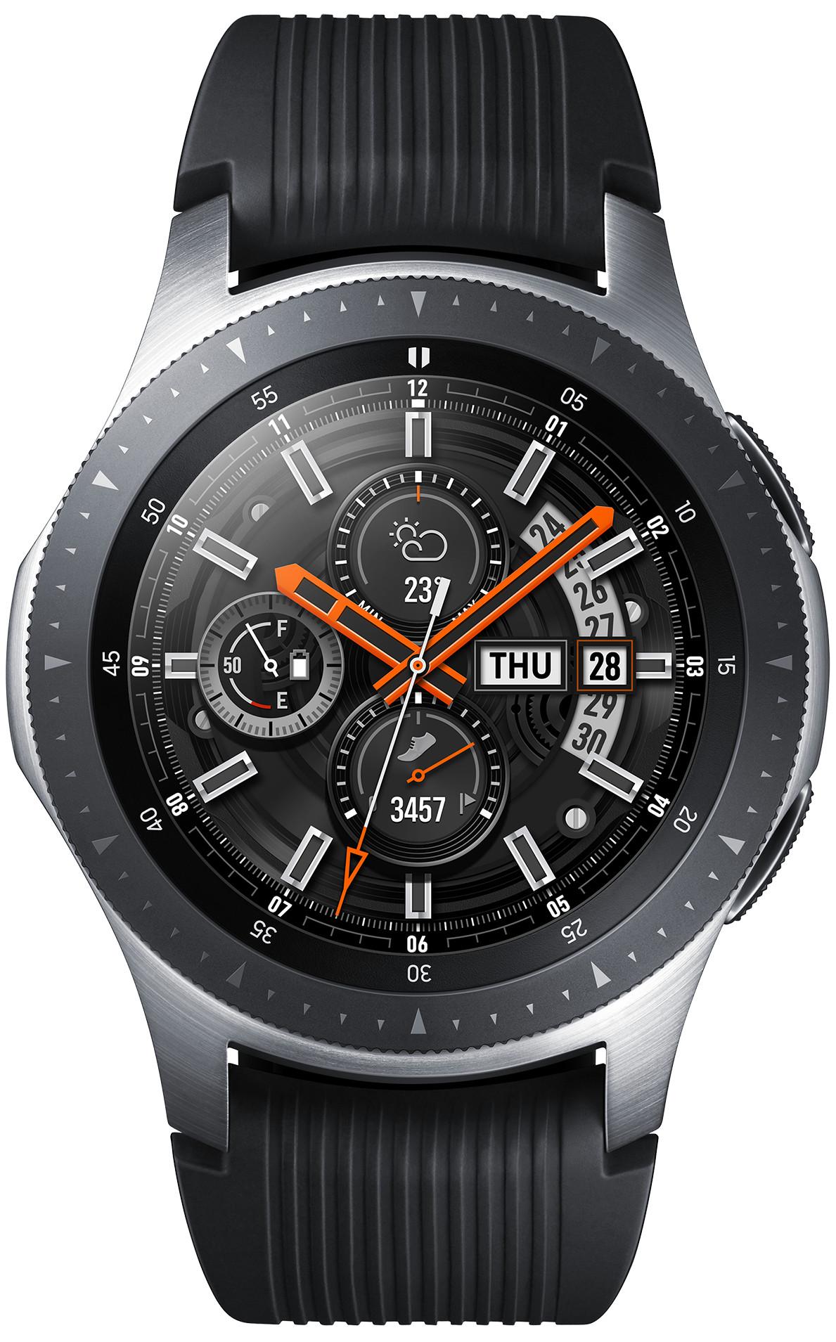 ساعة Galaxy Watch المميزة بنظام حماية عالي وشاشة رائعة جداً