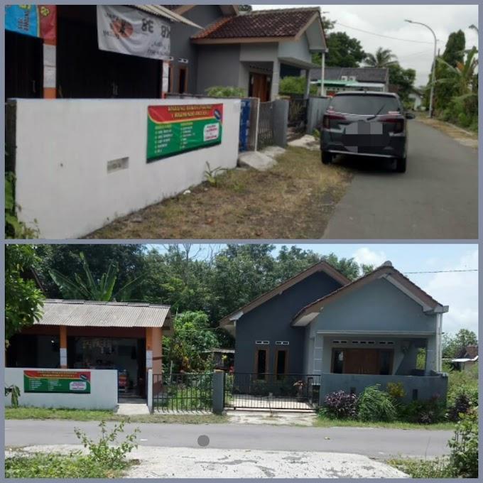 Tanah Murah Strategis Bonus Rumah, Kios dan Gudang Pinggir Jalan Seputar Jl. Wates Km. 9