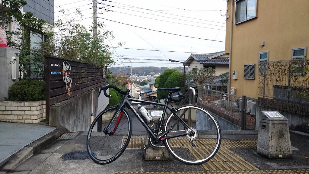 聖蹟桜ヶ丘 いろは坂にてFuji Roubaix 1.3の写真