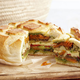 Picnic Loaf Sandwiches.
