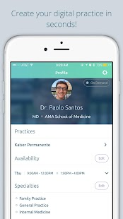 Jio Health for Doctors- screenshot thumbnail