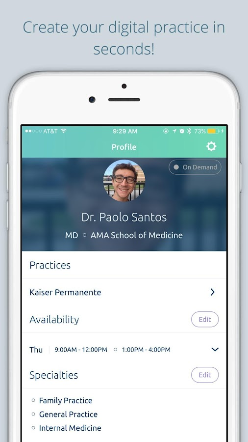Jio Health for Doctors- screenshot