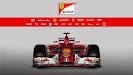 Ferrari F14 T front view