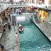 künstlicher Fluss in der Mall