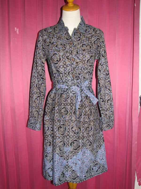 Septa Eka Indriani Contoh Baju Batik Model Sekarang