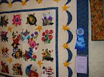 2007 Quilt Show - A) Applique Hand Quilted - Any Size