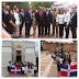 Director de Desarrollo Fronterizo honra a los padres de la patria deposita ofrenda floral en el altar de la patria.