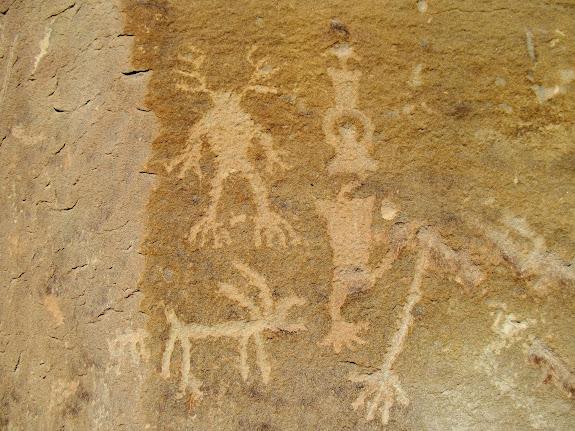 Spring Canyon petroglyphs