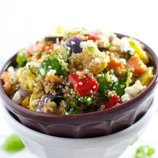 Roasted Vegetable Quinoa Salad.