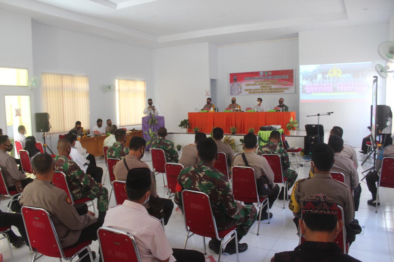 Kapolres Soppeng Gelar Tatap Muka Bersama Tripika dan 3 Pilar di Marioriwawo