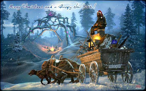 besplatne pozadine za desktop 1680x1050 free download blagdani Božić Nova godina