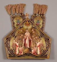 Two Embroidered Mitres by the Poor Clares of Mazamet, France