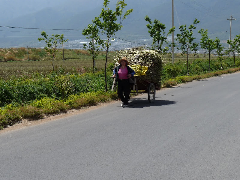 Chine. Yunnan Dali .En vélo vers le lac ERHAI - P1170692.JPG