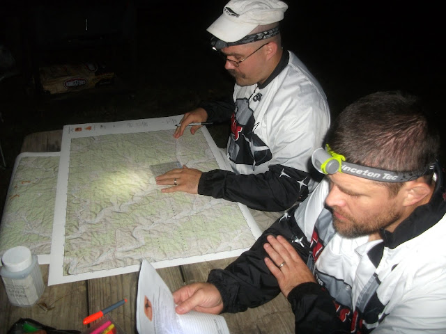 Plotting Points at the Berryman Adventure Race