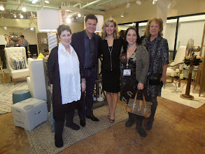 Photo: Donny and Debbie Osmond greeting the first of many retail buyers they met on the day of the collection's launch in Atlanta.