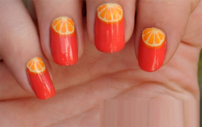 Trendy Fimo Fruits Nail Art Designs 2017 Pictures Styles Art